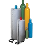 Hazardous-Area Gas Cylinder Warmers