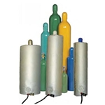 "Gas Cylinder Warmer, For hazardous Locations, 10"" x 47"", 150w, 240V"
