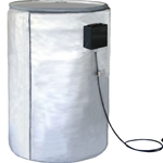 Full-Coverage Drum Heater for Poly 55 Gallon Drums, 770W 120 V