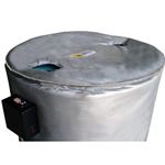 Lid Cover for 55 gallon drum heater or insulated blanket