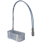 HXSL Flex Riser PTFE Heater, 1000W, Custom Length and Width to Fit Tank